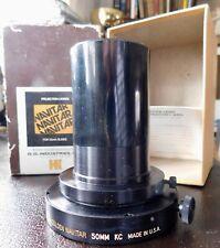 Nice Vintage D.O. Industries Golden Navitar 50mm KC Projection Lenses  USA made