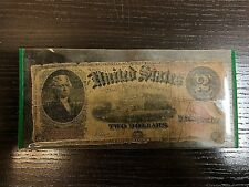1917 US $2 Bill Circulated Paper Currency C59986484A