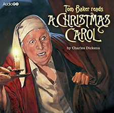 A CHRISTMAS CAROL - CHARLES DICKEN - READ BY TOM BAKER - 3 CD AUDIO BOOK - NEW