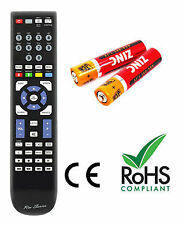 Matsui M22DVDB19 Remote Control Replacement With 2 Batteries