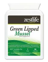 Zestlife Green Lipped Mussel 500mg 90 capsules healthy joints, immune system