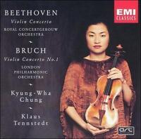 Beethoven: Violin Concerto; Bruch: Violin Concerto 1 / Chung, Tennstedt