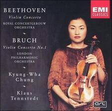 Beethoven: Violin Concerto; Bruch: Violin Concerto No. 1 (CD,1992, EMI DDD)