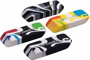 Swordfish Wavez Eraser Assorted Colour Patterns Kids Rubber Smudge Free