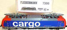 SBB Escala RE 482 eléct Cargo EP5 FLEISCHMANN 7386 1:160 N EMB. orig. NUEVO HR4