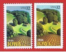 #3088-3089  MNH OG  Iowa  Free S/H