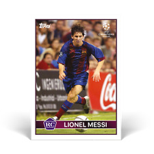 LIONEL MESSI Topps The Lost Rookie Card RC *****PRE-ORDER Barcelona