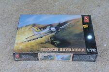Hobby Craft French Skyraider 1/72 Scale Model Kit NEW Factory Sealed