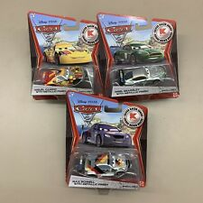 Cars 2 KMart Lot 3 Metallic Finish Max Schnell Miguel Camino Nigel Gearsley