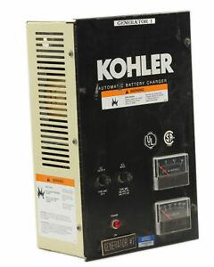 Kohler D-292863 Battery Charger 1/pkg 50/60Hz Input: 120/240 1 Ph