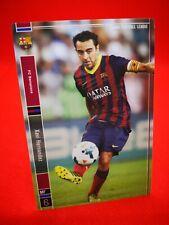 Panini Football League 2014 carte card soccer Star+ Barcelone #6 Xavi