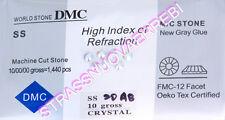 1440 STRASS  TERMOADESIVI  DMC 5  MILLIMETRI (SS 20)  CRYSTALLO AURORA BOREALE