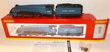 Hornby R2149 - A4 60007-'Sir Nigel Gresley', Blue, BRITISH RAILWAYS - Boxed.(00)