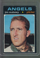 1971 TOPPS #645 JIM MALONEY CALIFORNIA ANGELS BK$12.00 A