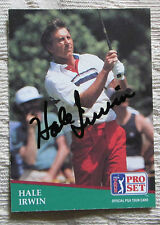 RARE HALE IRWIN AUTO SIGNED TRADING CARD PGA TOUR GOLFER BLOWOUT SALE