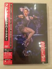 MADONNA DVD REBEL HEART TOUR JAPAN EDITION - NEW AND SEALED