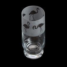 Dartington Aspect Hand-Finished Flamingo Highball Glass in a Box
