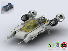 LEGO MOC - Space- Starfire Scout NLL914 - CUSTOM Model - PDF Instructions Manual
