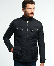 New Mens Superdry Apex Norse Jacket Black