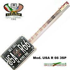 Cigar Box Guitar U.S.A. R66 3SP delta blues special Robert Matteacci's.