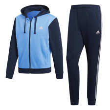 Adidas Men TrackSuit Set Running Training WorkOut Energize 3 Stripe Style DN8524