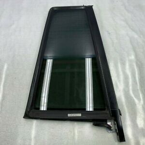 2007 - 2012 MERCEDES GL CLASS - REAR RIGHT PASS DOOR FIXED GLASS WINDOW OEM
