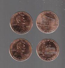 2009 P&D variety 1  &  3 ~ GEM BRILLIANT UNCIRC ~4 pc Lincoln Cent Set -RS COINS