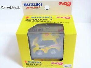 Choro Q TAKARA SUZUKI MOTORSPORT SWIFT SUPER 1600 WRC RALLY RACING CAR Rare