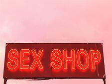 ART PRINT POSTER PHOTO SEX SHOP NEON SIGN LFMP0510