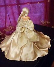 Barbie Princess Samantha Gift  Gold Ball Gown Dress OOAK