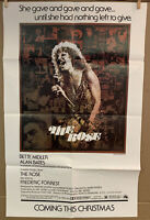 """Bette Midler The Rose 20th Century Fox Poster 1979 20""""W x 31.5""""H Folded 1 Tear"""