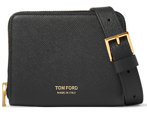 Tom Ford Lanyard Pouch Bag Neck Strap Purse Wallet Cards Case New