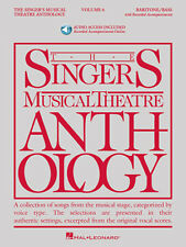 The Singer's Musical Theatre Anthology - Volume 6 Baritone/Bass Book/Online Audi