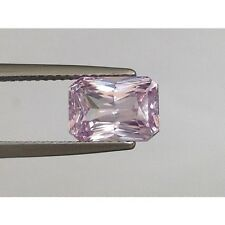 Natural Pink Sapphire Purple-pink color Octagonal shape 3.13 carats