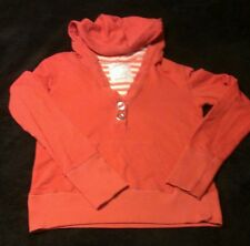 Nice AEROPOSTALE Women's 2-Button Peach Hoodie, SMALL. GOOD COND. GREAT DEAL!