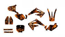 CR85 graphics for Honda 2003-2013 custom mx sticker kit  NO9500N Zombie Skull