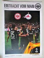 Eintracht Frankfurt-RB Salzburg Programm (benutzt)