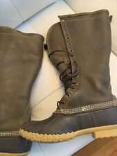 LL Bean Boots, Size 8M (Women's), Duck Boots, Rain Boots, Army Green