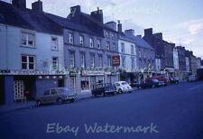 Kilkenny Ireland Street Scene Pubs,VW's,T.O'Meara & Sons 1968 Kodak 35mm Slide
