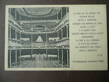 Cartolina Forlimpopoli Stefano Pelloni Passatore Teatro Verdi 1904 1930 Romagna