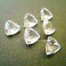 AAA Quality 10 Pieces Clear Quartz 10x10 MM Trillion Cut Loose Gemstone