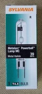 Sylvania 64791 | 64971 Metal Halide Bulb 35W 39W TC T4 G8.5 3000K — ANSI M130/E