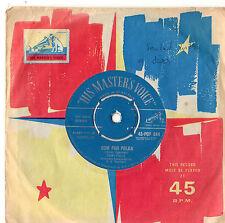 "Poni Tails - Oom Pah Polka / Moody 7"" Single 1959"