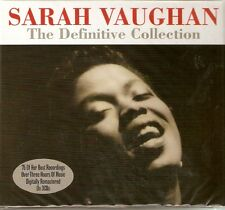 Sarah Vaughan - The Definitive Collection [Best Of / Greatest Hits] 3CD NEW