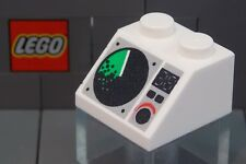 LEGO: Slope 2 x 2  45˚ with Radar Screen Pattern (#3039px5) **Two per Lot**