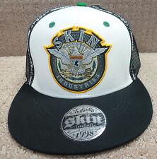 "Skin Industries Men's Trucker Snap Back Hat ""BADGE 45 Flip"", OSFM"