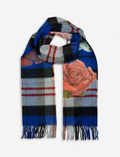 BODEGA ROSE Men's Bodega Rose X Johnstons wool scarf