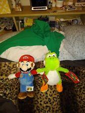 NEW Super Mario Plush - Mario and Yoshi