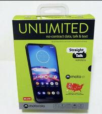 """Straight Talk Motorola Moto E(2020) XT2052DL 4G LTE 6.2"""" Android 10 32GB (LTE-V)"""