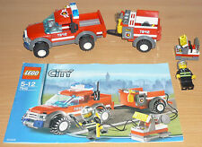 Lego City 7942 modernes Feuerwehrauto v. 2007 + OBA